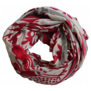 echarpe laine versailles rouge