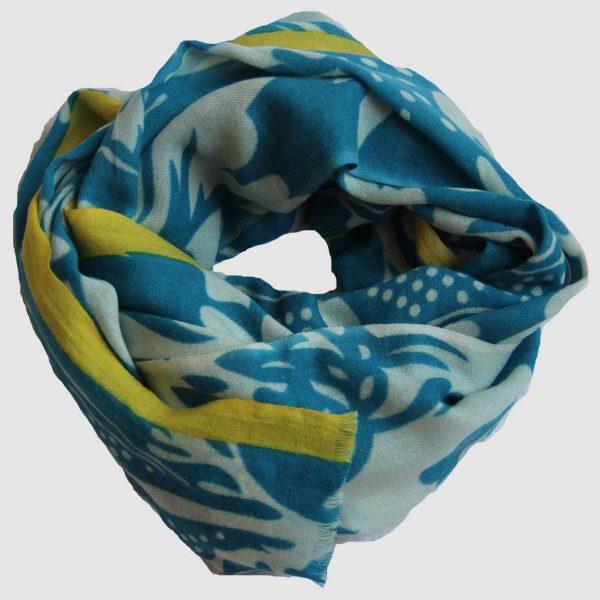 Echarpe XL Versailles - Bleu