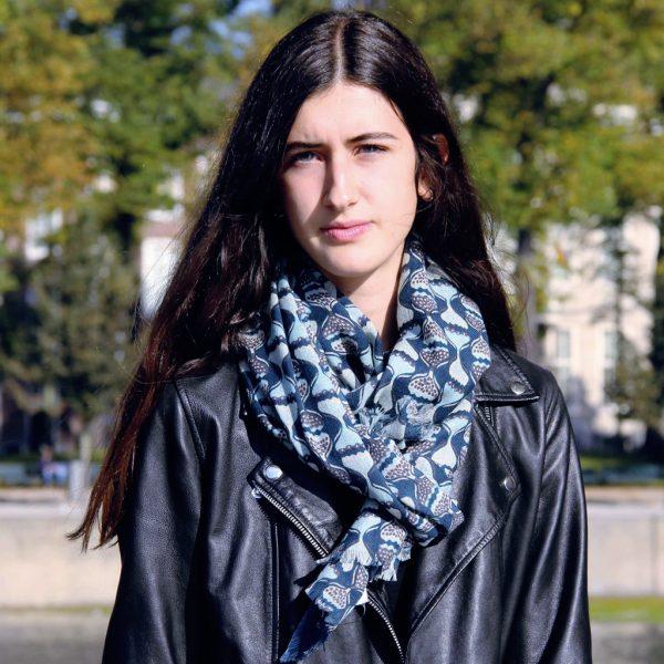 Echarpe Gypsi Bleu