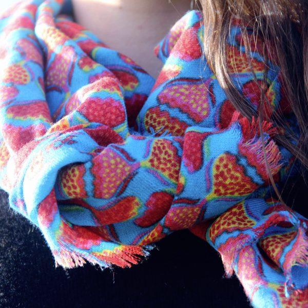 Echarpe Gypsi Turquoise
