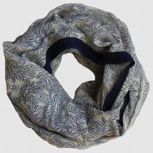 Echarpe Herbes Folles - Bleu