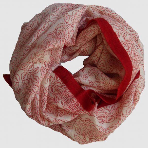 Echarpe Herbes Folles - Rouge