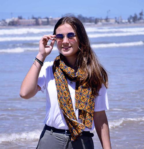 echarpe-coton-marrakech-jaune-1