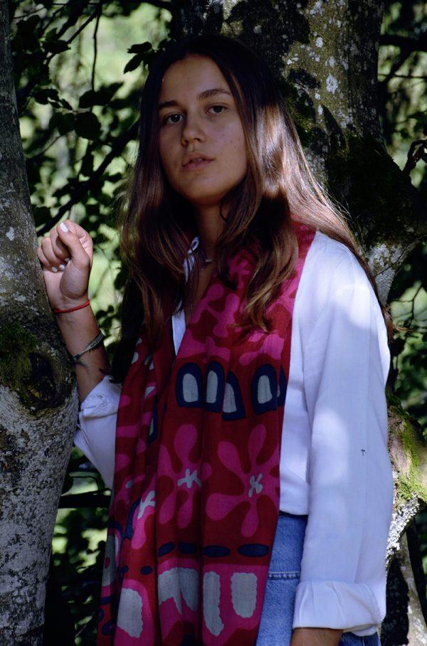 echarpe-laine-rituel-rouge-1