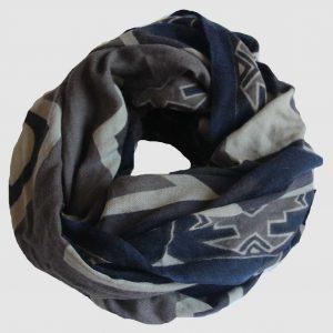 Echarpe XL Ndebele - Noir