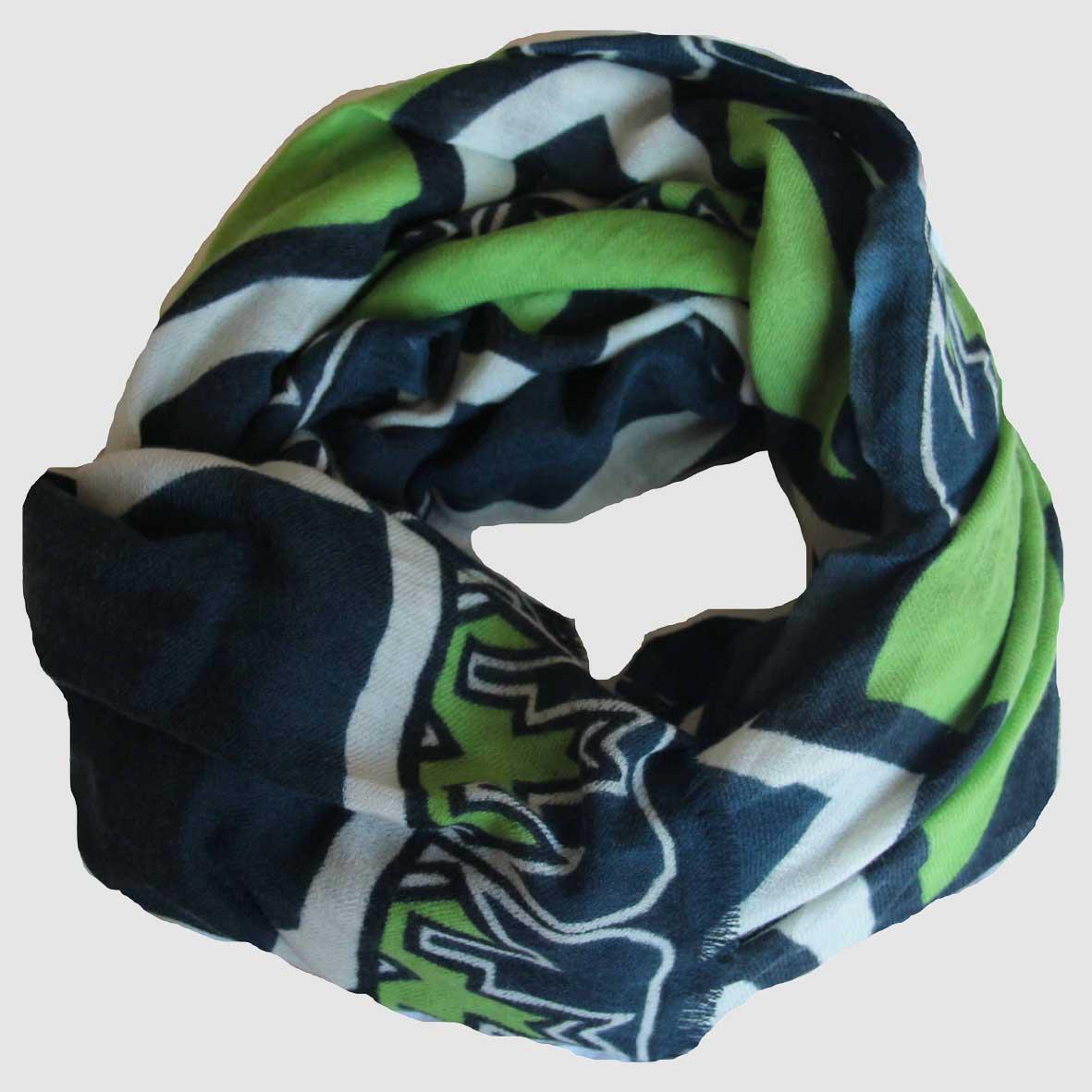 Echarpe XL Ndebele - Vert