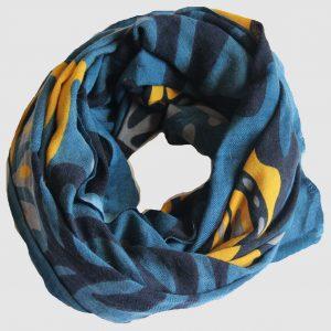 Echarpe XL Totem - Bleu