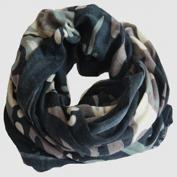 echarpe laine xl totem-noir