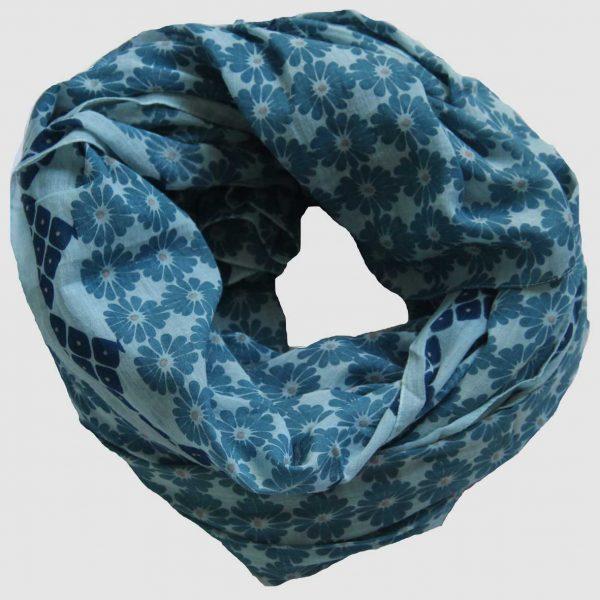 Foulard Kyoto - Bleu