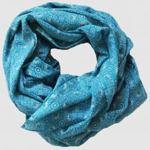Foulard Source - Bleu