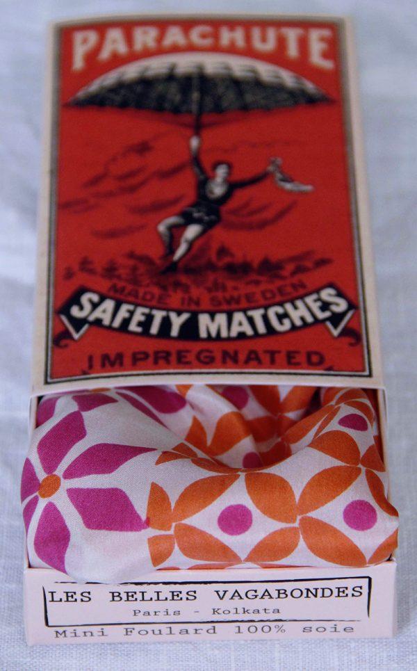 foulard soie mini-emiko-orange-1