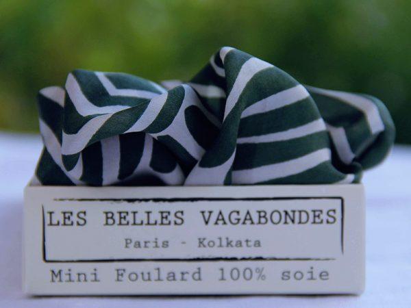 foulard soie mini-fluid-kaki-1