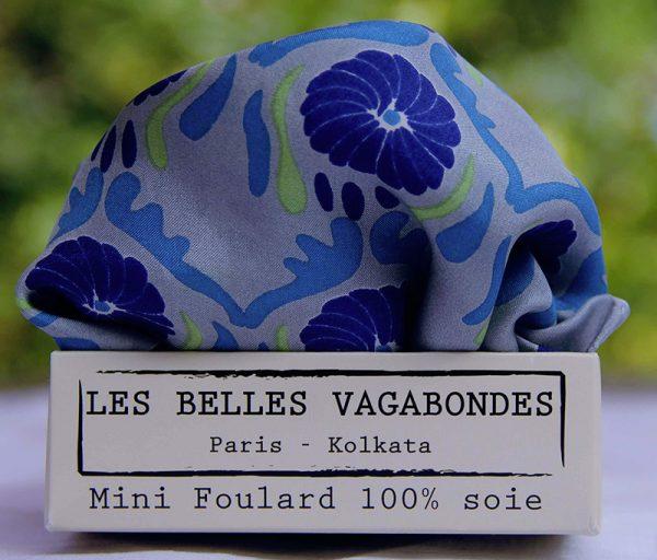 foulard soie mini-jaipur-bleu-1