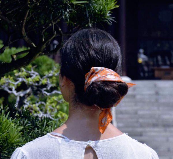 foulard soie mini-jaipur-orange-1