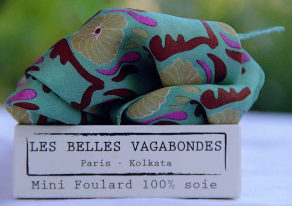 foulard soie mini-jaipur-vert-1