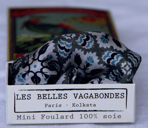 foulard soie mini-marrakech-kaki-1