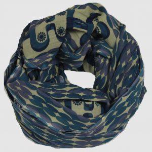 Foulard Boreal Bleu