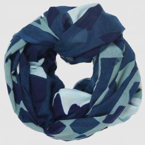 Foulard Maya - Bleu