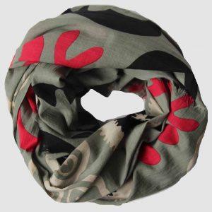 foulard coton bio Oural Mastique